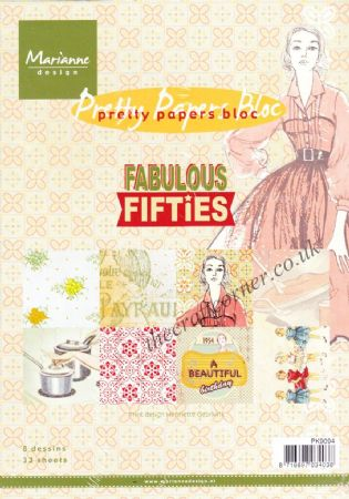 Fabulous Fifties Pretty Papers Bloc 32 Sheets Paper Pad